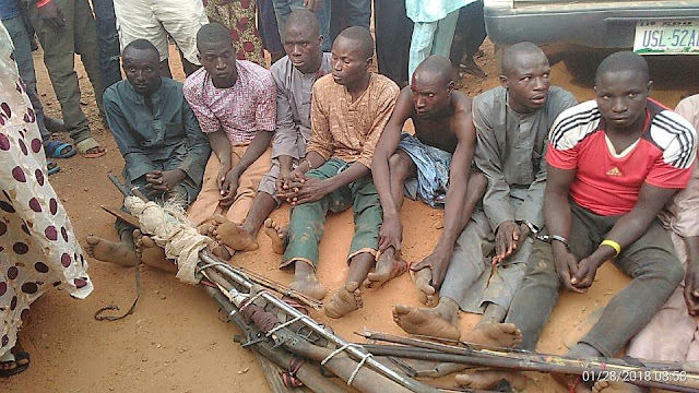 Youths from Okpe town in Delta State, Wednesday morning disarmed some Fulani herdsmen who allegedly invaded the town.