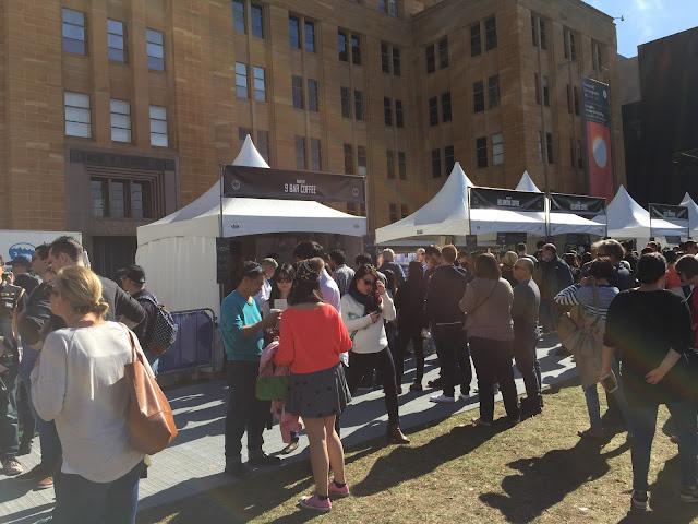 Sydney - The Rocks Aroma Festival 2015