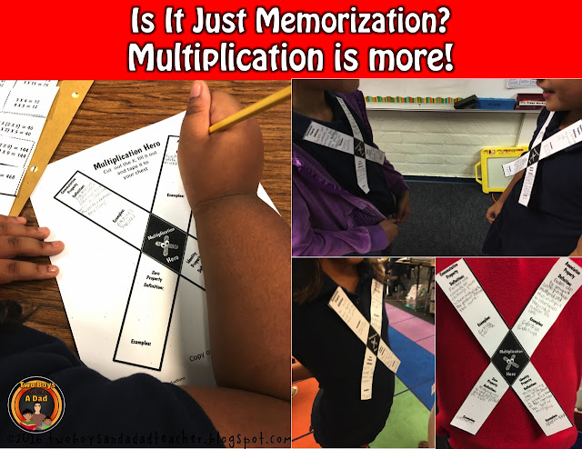 Multiplication Hero Activity