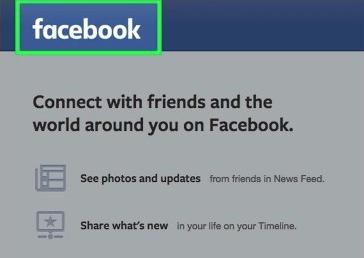 Desktop Facebook site login