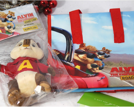 Mommy Katie: #Giveaway Alvin and the Chipmunks: Road Chip Prize Pack + $25 Gift Card