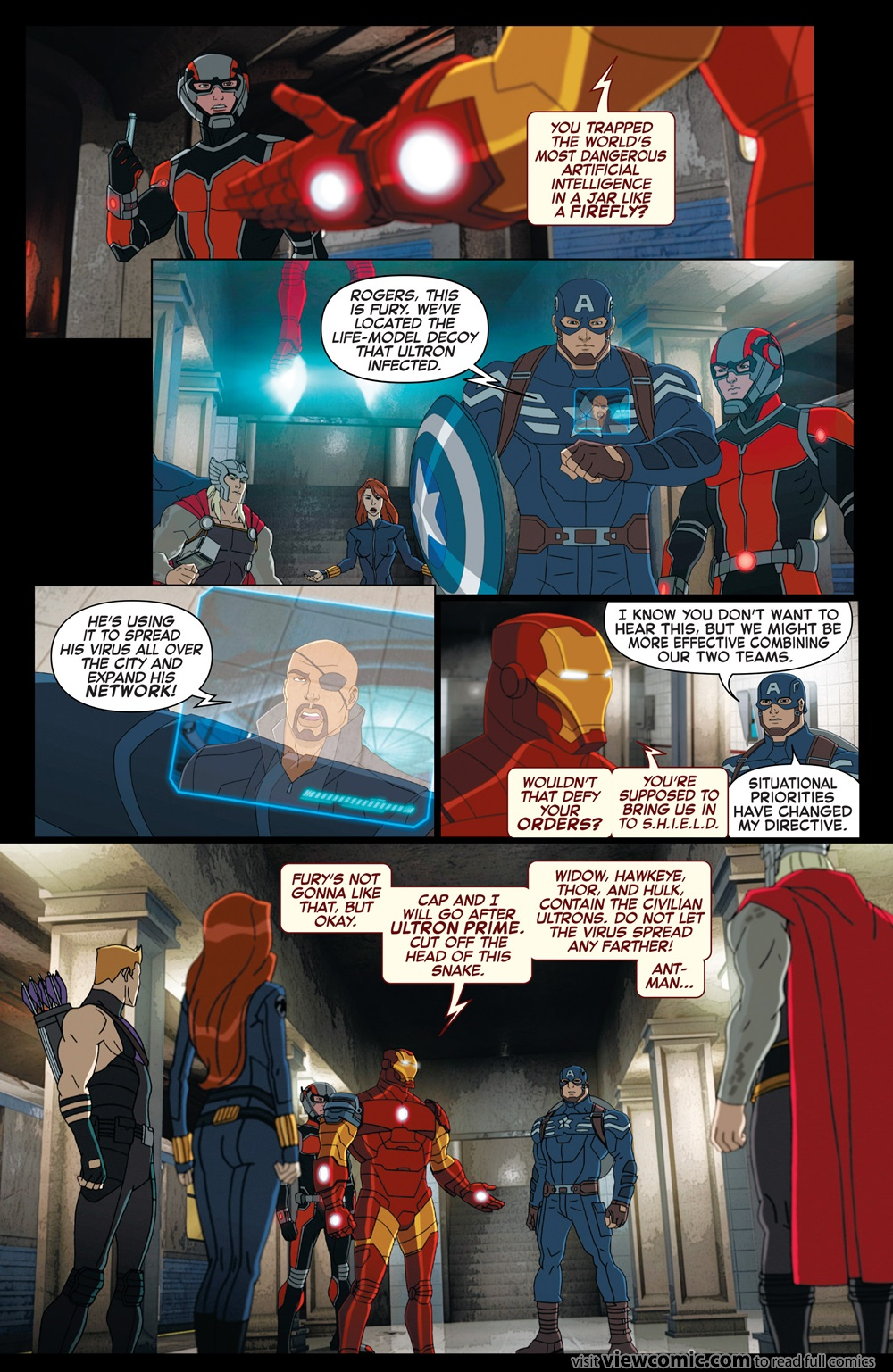 Marvel Universe Avengers Assemble – Civil War 004 (2016) | Viewcomic