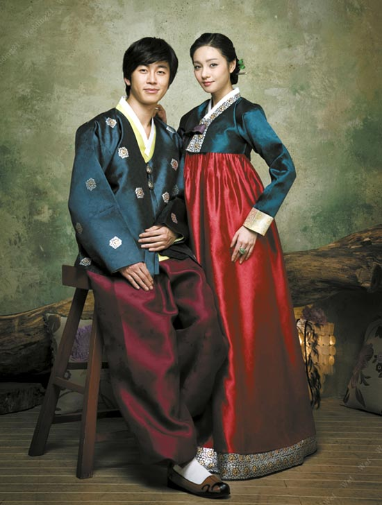 all about the beautiful korea the traditional costume of