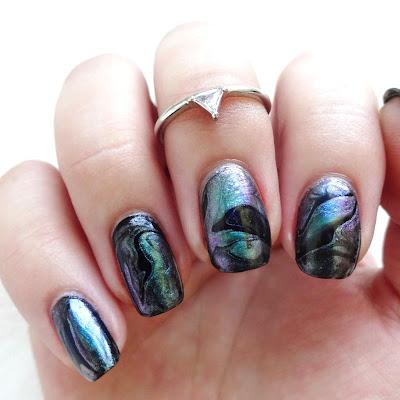 Abalone Nail Art