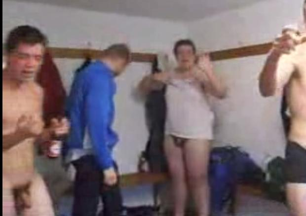 boys changing room