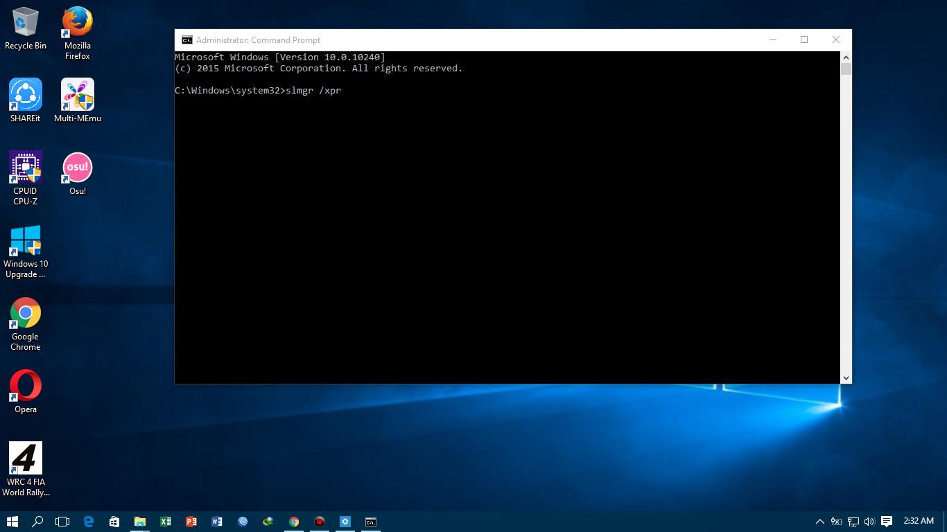 Cara aktivasi windows 10 permanent dengan product key blognya sam 08 3 apabila muncul the machine is permanently activated windows anda sudah teraktivasi permanent ccuart Images