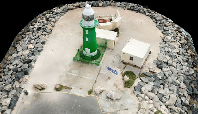 South Mole Lighthouse Fremantle Drone Scan using Drone Deploy - Image 4