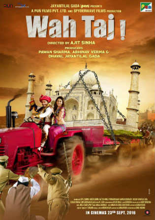 Wah Taj 2016 HDRip 750MB Full Hindi Movie Download 720p Watch Online Free Worldfree4u 9xmovies