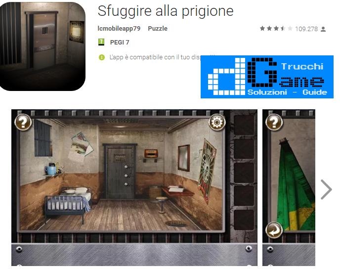 Soluzioni Escape The Prison Room livello 1-2-3-4-5 | Trucchi e Walkthrough level