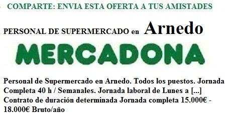 Arnedo, Logroño, La Rioja, Lanzadera de Empleo Virtual. Oferta de Empleo Mercadona