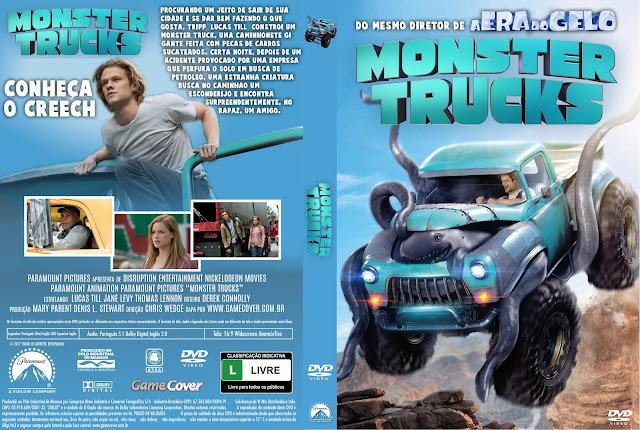 Capa DVD Monster Trucks [Exclusiva]