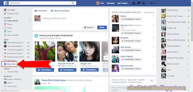 Cara Membuat Grup Di Facebook