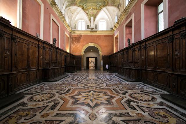Sacrestia-Complesso monumentale dei Girolamini-Napoli