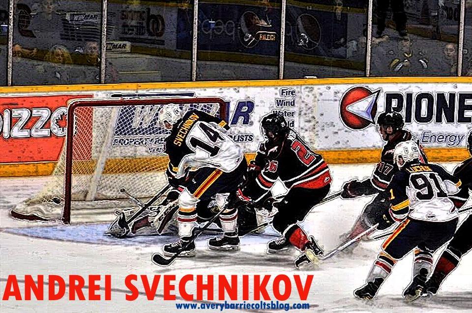 06778f3fec1 Barrie Colts 2018 NHL Draft Prospects  Andrei Svechnikov.  OHL  NHLdraft