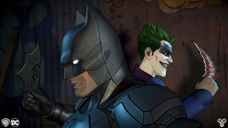 telltale game batman joker