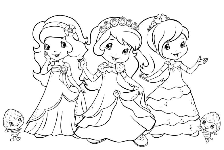 Desenho Para Imprimir Da Moranguinho