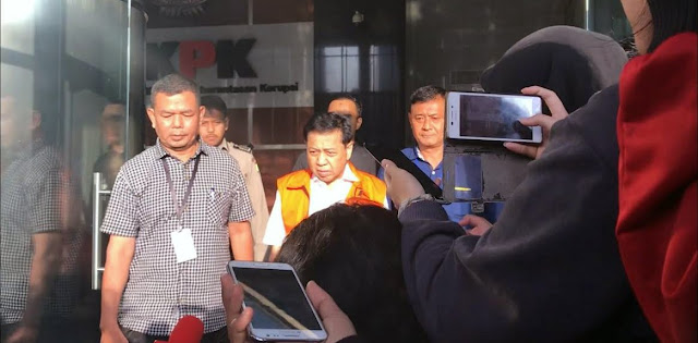 Novanto Mulai Buka Mulut Setelah Diperiksa Penyidik KPK
