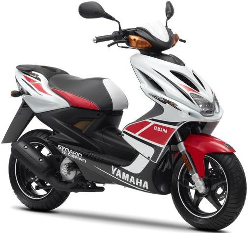 yamaha aerox scooter motogp style edition motorcycles. Black Bedroom Furniture Sets. Home Design Ideas