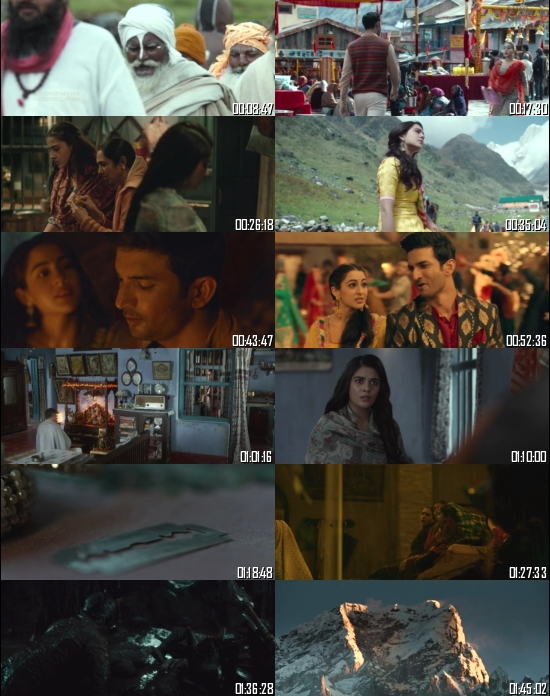 Kedarnath 2018 Hindi 720p 480p BRRip x264 Full Movie