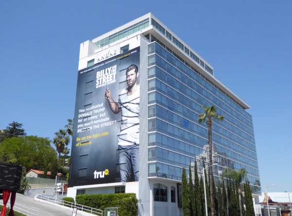 Giant Billy on Street 2017 Emmy FYC billboard