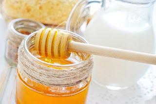 Une crème au miel