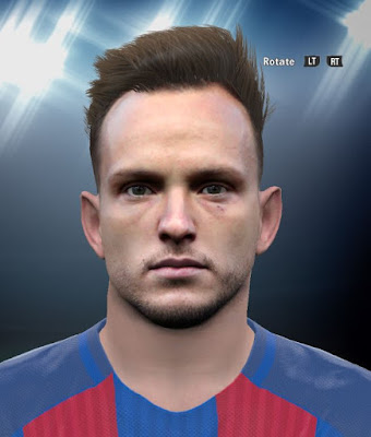 Ivan Rakitic PES2016 Face By DzGeNiO