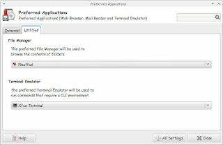Default File Manager