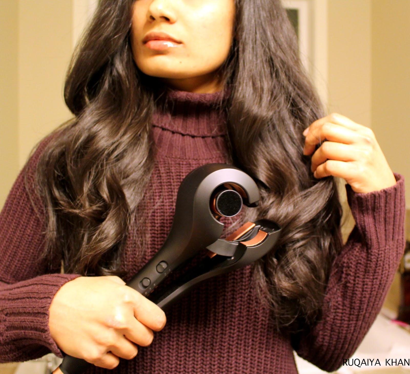 Ruqaiya Khan Infiniti Pro By Conair Met E Met Half Half Curl