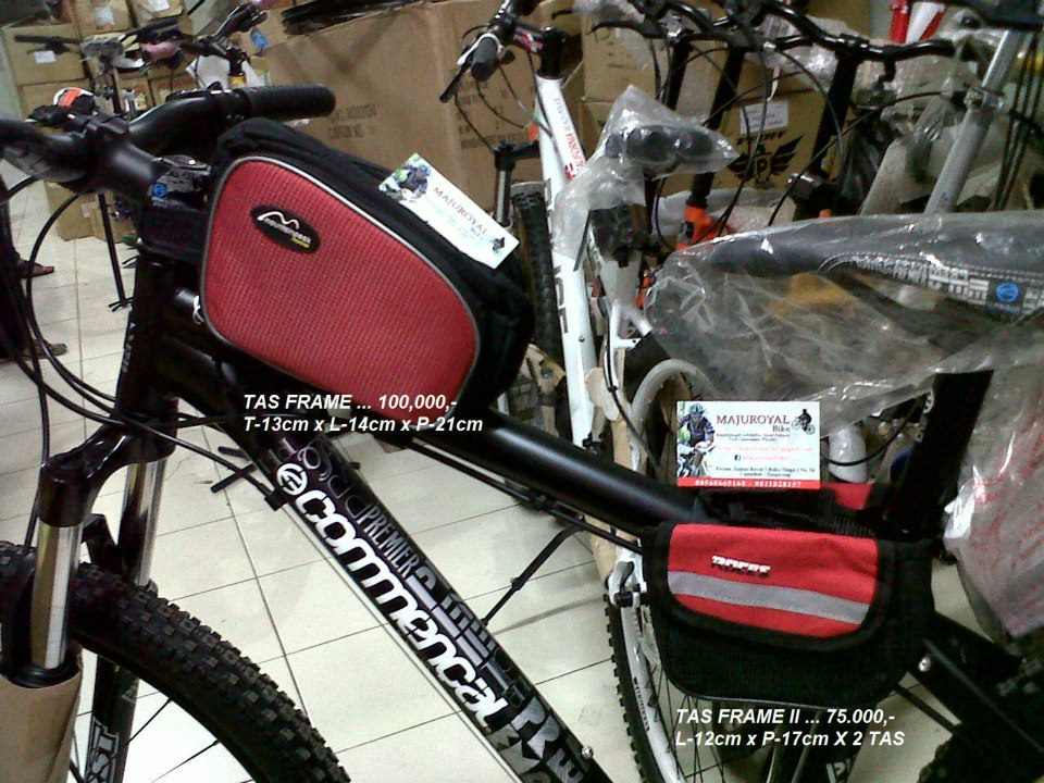 Toko Sepeda Online Majuroyal Macam Macam TAS untuk Sepeda