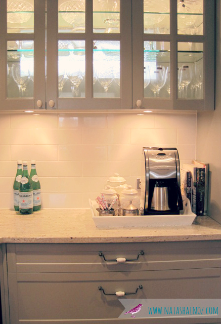 #Coffee Time ~ My New Beverage Station-French Gray Kitchen image