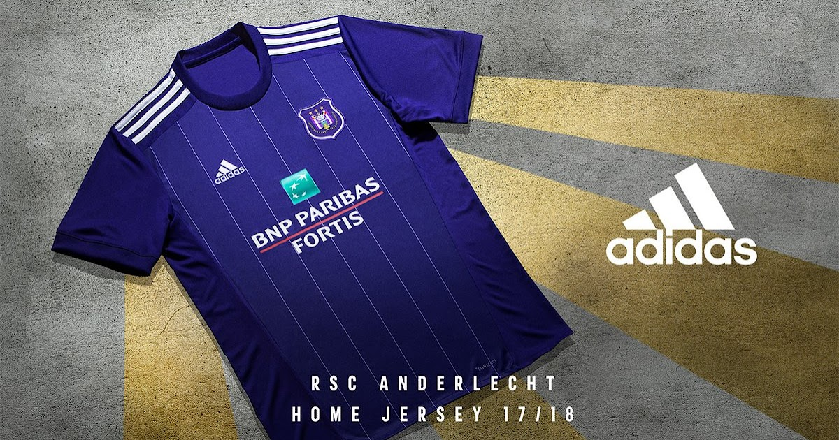 Adidas RSC Anderlecht 1718 Home  Away Kits Released