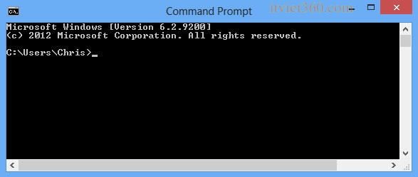 CMD command Prompt