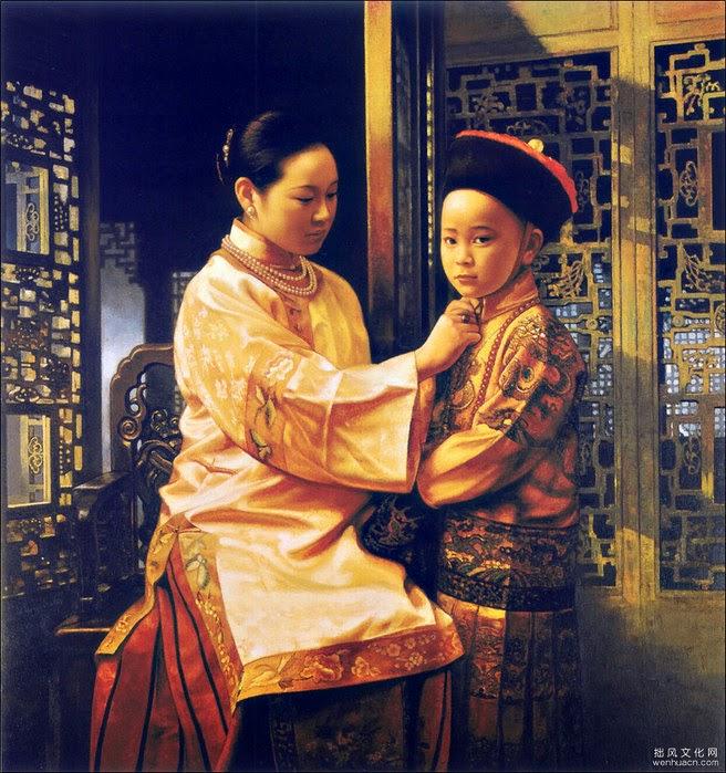 Jiang Guofang e suas mais belas pinturas | Pintura chinesa