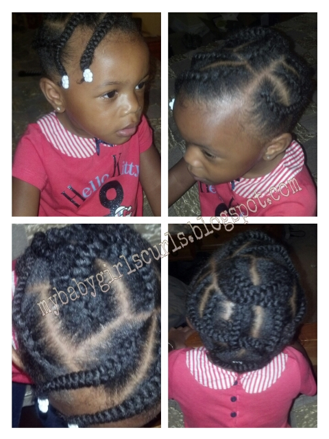 Fabulous My Baby Girls Curls Quick Amp Simple Style For Toddler Chunky Short Hairstyles Gunalazisus