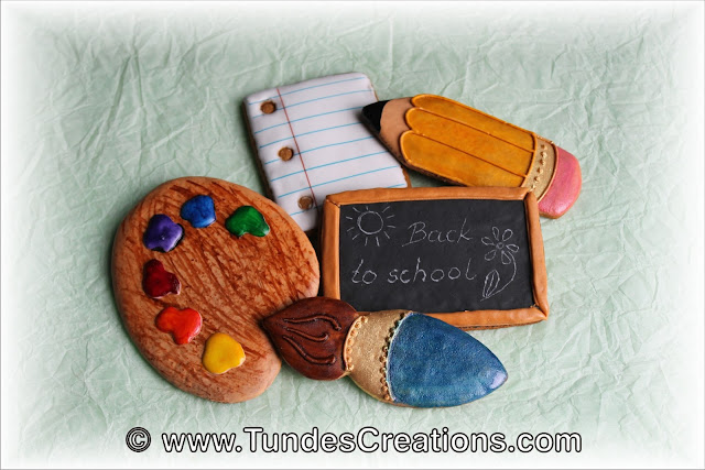 Back to school cookies by Tunde Dugantsi