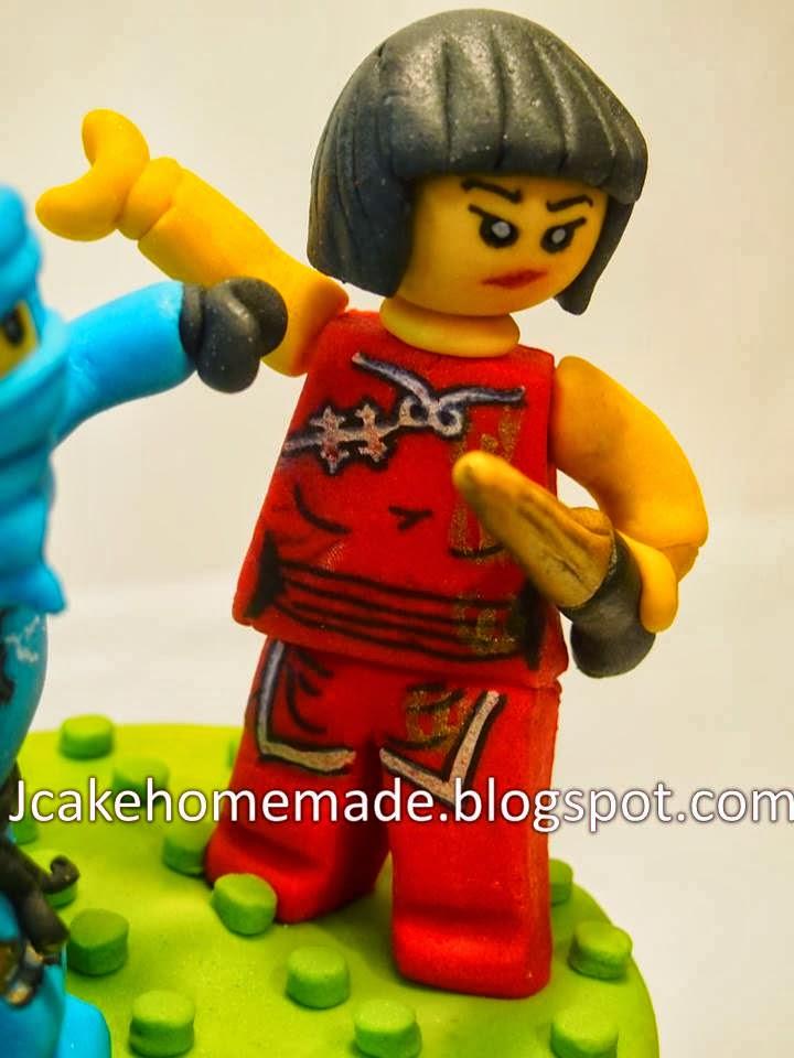 Jcakehomemade Lego Ninjago Birthday Cake