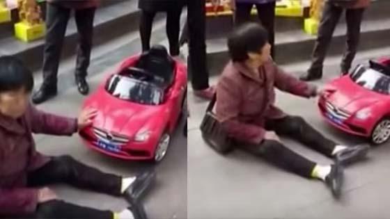 Nenek Desak Minta Pampasan Akibat Dilanggar Kereta Mainan