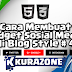 Cara Membuat Widget Sosial Media di Blog - Style #4