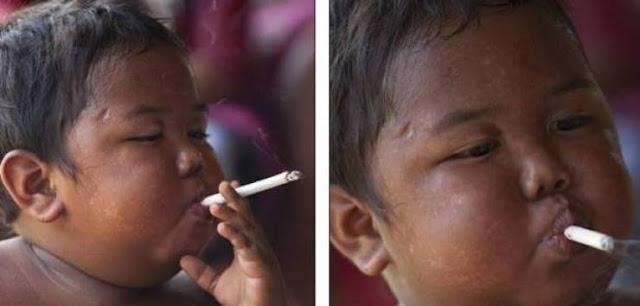 هل تذكرون 'طفل السيجارة' الشهير؟.. لن تتوقعوا كيف أصبح شاهدوا كيف أصبح الآن