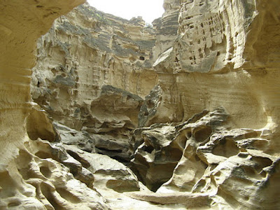 Chahkouh Valley in Qeshm Island