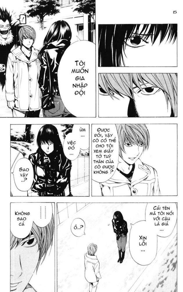 Death Note chapter 014 trang 16