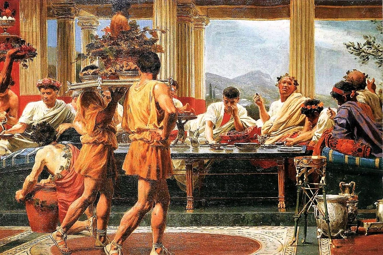 Il blog di fabrizio falconi ma come e cosa mangiavano for Piani storici per la seconda casa dell impero