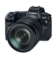 Canon EOS R с объективом