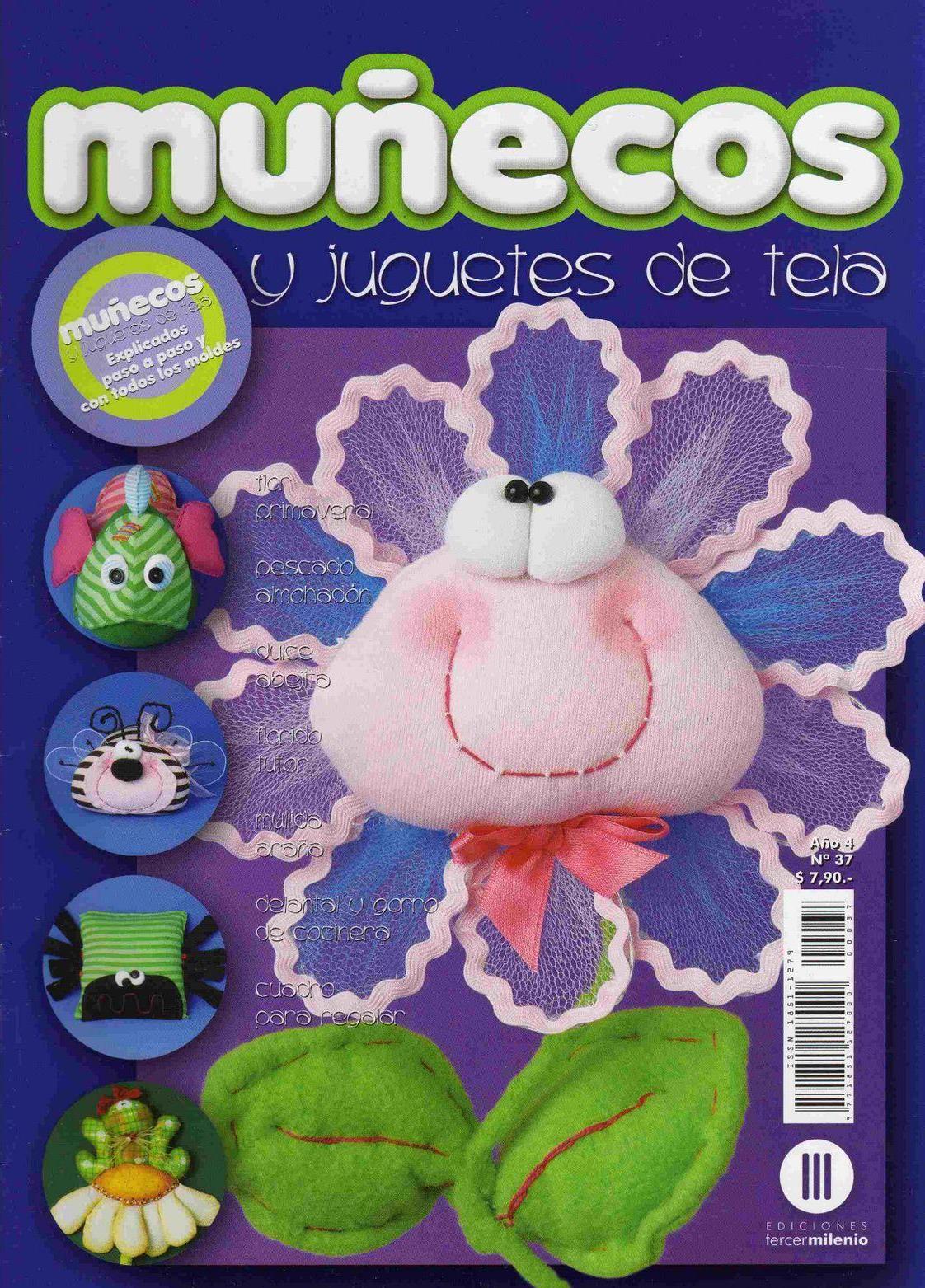 Muñecos y Juguetes de Tela Nro. 37