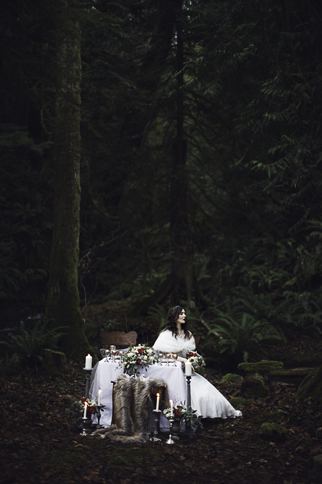 A West Coast Winter Bridal Shoot (via Bubby and Bean)