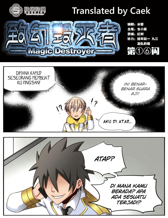 Magic Destroyer Chapter 16 Bahasa Indonesia
