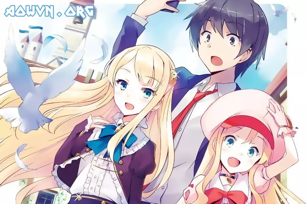 AowVN%2B%25283%2529 - [ Anime 3gp Mp4 ] Isekai wa Smartphone to Tomo Ni   Vietsub - Mùa Mới