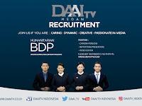 Lowongan Kerja DAAI TV Medan
