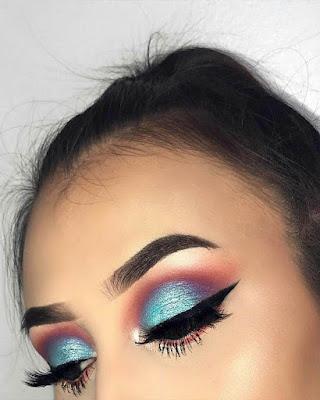 flashy makeup