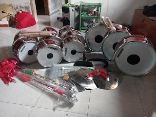 jual alat drumband bagus murah, alat musik dramben 085227274249